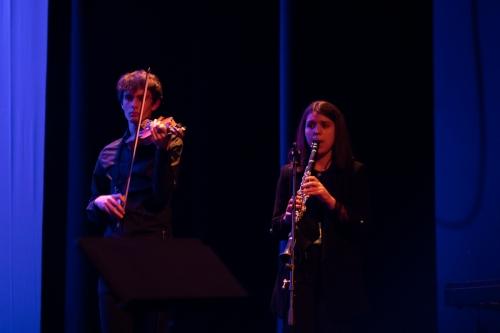 Angélica Salvi com Conservatório de Música de Barcelos